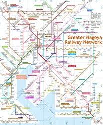 Greater Nagoya Map